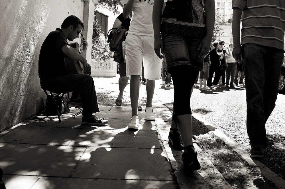 photoblog image Passers by